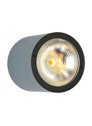 Salhiya Lighting Indoor/Outdoor Ceiling Light, LED Bulb Type, 1 Bulb, 7W, IP54, 2236-COB, 3000K-Black