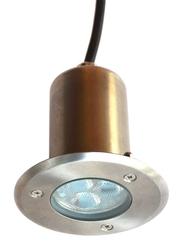Salhiya Lighting Underground Light, LED Bulb Type, 1W Cree, IP67, 2321, 3000K-Warm White