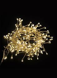 Salhiya Lighting 3-Meter Decorative Cluster 200 LED Light Chain, PL17636, Yellow
