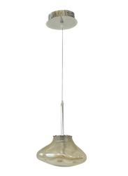 Salhiya Lighting Modern Champagne Ceiling Pendant Light, E27 Bulb Type, D170910, Transparent
