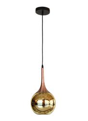 Salhiya Lighting Modern Didi Ceiling Pendant Light, E27 Bulb Type, Small, D170610/1, Gold