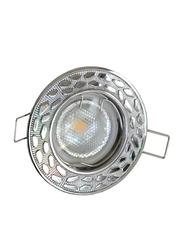 Salhiya Lighting Spotlight Frame, LED Bulb Type, Round Fixed, AL146A, Chrome