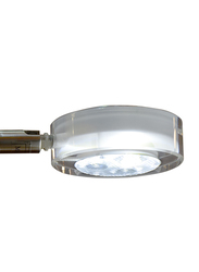 Salhiya Lighting LED Mirror/Picture Light, Steel, 3W, 3144, Cool White/Silver