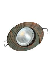Salhiya Lighting Spotlight Frame, LED Bulb Type, Oval Fixed, 0872G/1009, Green