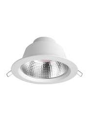 Megaman Ceiling Downlight, LED Bulb Type, 19W, IP44, F54800RC, 2800K-Warm White