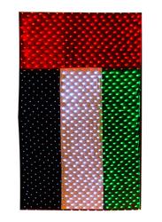 Salhiya Lighting Decorative Lighting UAE Flag LED, W4.5 x H9 Meters, Green/White/Black/Red