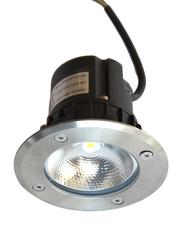 Salhiya Lighting Underground Light, LED Bulb Type, 7W, 2641COB, Silver
