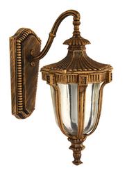 Salhiya Lighting Outdoor Wall Light, E27 Bulb Type, OW0161, Black Gold