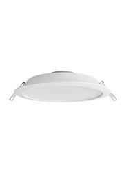 Megaman Sienalite Integrated Ceiling Downlight, LED Bulb Type, 24W, FDL70300v0, Warm White