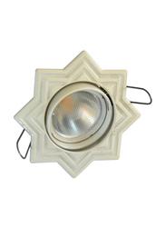 Salhiya Lighting Spotlight Frame, GU10 Bulb Type, Star Movable, 0791G, White