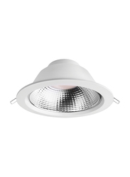 Megaman Recessed Integrated Ceiling Downlight, GX53 Bulb Type, 19W, F54800RC, Daylight