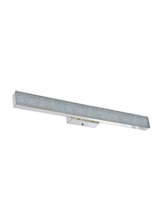 Salhiya Lighting LED Mirror Light/Picture Light, E27 Bulb Type, Steel, H136, A2288, Silver