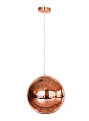 Salhiya Lighting Modern Glass Ceiling Pendant Light, E27 Bulb Type, MD13090001, Rose Gold