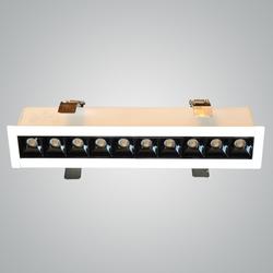 Euroluce 10Heads Ceiling Downlight, LED Bulb Type, 4W, CF4010, 3000K-Warm White