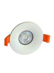 Euroluce Spotlight Frame, MR16-GU10 Bulb Type, NC1761R, Matt White