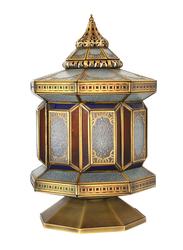 Salhiya Lighting Arabic Table Lamp, E27 Bulb Type, DT0815, Gold/Brown