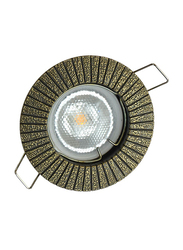 Salhiya Lighting Spotlight Frame, LED Bulb Type, Round Fixed, AL1462GAB, Bronze