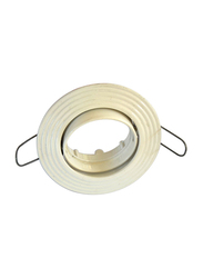 Salhiya Lighting Spotlight Frame, GU10 Bulb Type, Oval Movable, R110, White