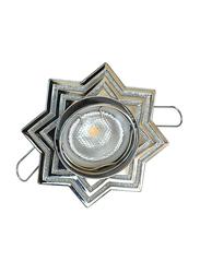 Salhiya Lighting Spotlight Frame, LED Bulb Type, Star Movable, 0791G/0922, Chrome