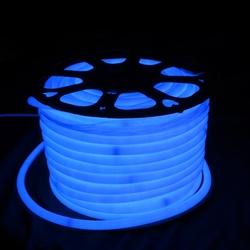 Salhiya Lighting 50 Meter High Quality Neon LED Strip Light, 108 LED/Meter, 6W/Meter, MINIU2002835, Blue