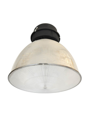 Salhiya Lighting High Lumens G12 Warehouse/Industrial High Bay Light, E27 Bulb Type, 70W, 06LD204C1, Light Grey