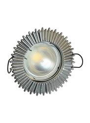 Salhiya Lighting Spotlight Frame, LED Bulb Type, Sunrays Fixed, 1852G/0822, Chrome