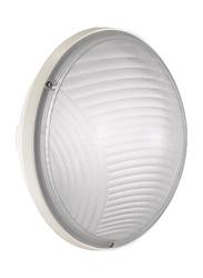 Lombardo Luce Mini Tonda 220 Outdoor Wall/Ceiling Light, E27 Bulb Type, LB53121, White