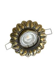 Salhiya Lighting Spotlight Frame, LED Bulb Type, Flower Movable, AL329F GAB, Bronze