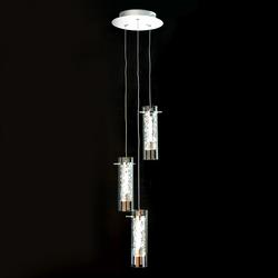 Salhiya Lighting Indoor Hanging Ceiling Light, LED, 3A, MD17002001, Chrome