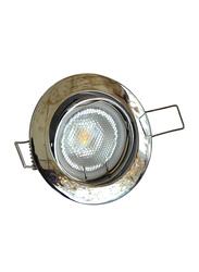 Salhiya Lighting Spotlight Frame, LED Bulb Type, Round Movable, AL229B, Chrome