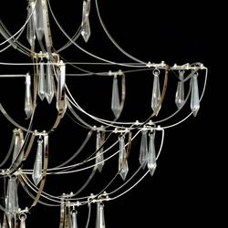 Salhiya Lighting Modern Stylish Chandelier Light, LED Bulb Type, D170611, Chrome