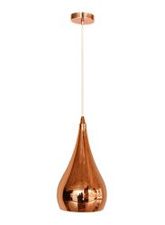 Salhiya Lighting Modern Helaria Ceiling Pendant Light, E27 Bulb Type, MD150031251B, Rose Gold