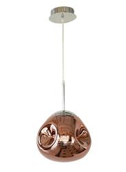 Salhiya Lighting Modern Delilah Ceiling Pendant Light, E27 Bulb Type, D170909/1, Rose Gold