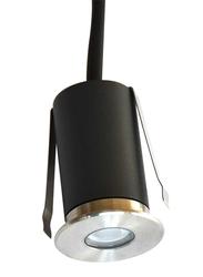 Salhiya Lighting Underground Light, LED Bulb Type, IP67, H1822, Silver