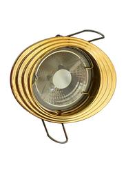 Salhiya Lighting Spotlight Frame, LED Bulb Type, Oval Fixed, R112, Gold