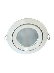 Salhiya Lighting Spotlight Frame, LED Bulb Type, Round Fixed, Cast Aluminum, AL328NMR16, White