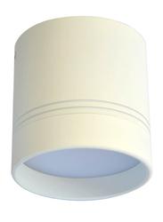 Euroluce Spotlight Frame, LED Bulb Type, Surface Mounted, 10W Cree, LC1682, Matt White