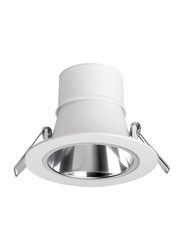 Megaman Recessed Integrated Ceiling Downlight, LED Bulb Type, 12.5W, Dim To Warm, F26400RC, White