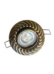 Salhiya Lighting Spotlight Frame, LED Bulb Type, Round Movable, AL3291GAB, Bronze