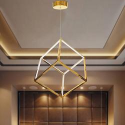 Salhiya Lighting Modern Pendant LED Light, 25W, Gold