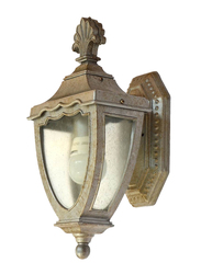 Salhiya Lighting Outdoor Wall Light, E27 Bulb Type, XH167, OW0167S, Silver