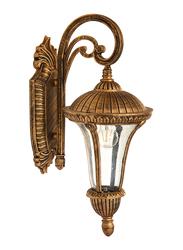 Salhiya Lighting Outdoor Wall Light, E27 Bulb Type, A20612, Black Gold