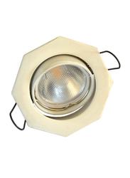 Salhiya Lighting Spotlight Frame, LED Bulb Type, Octagon Movable, 0461G/0806, White