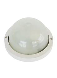 Salhiya Lighting Indoor/Outdoor Wall Bulkhead Light, E27 Bulb Type, P960S, White