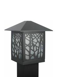 Salhiya Lighting Gate Top Light, E27 Bulb Type, Glass Diffuser, 141302141102, Brown