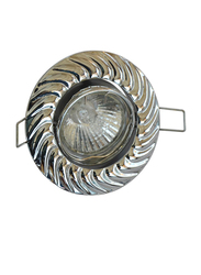 Salhiya Lighting Spotlight Frame, LED Bulb Type, Round Movable, 3x9 cm, AL333, Grey