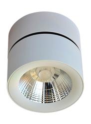 Euroluce Spotlight Frame, LED Bulb Type, Adjustable Surface Mounted, 10W Cree, LC1295, White