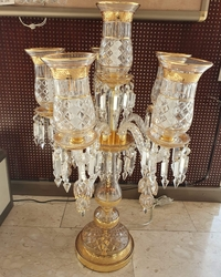 Salhiya Lighting Table Lamp, E27 Bulb Type, MT9850, Gold