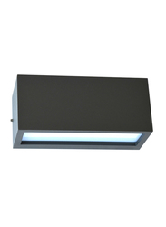 Salhiya Lighting Indoor/Outdoor Wall Light, E27 Bulb Type, 5701, Black