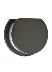 Salhiya Lighting Indoor/Outdoor Wall Light, LED Bulb Type, 5661, Black